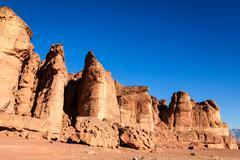 solomon pillars - stock photo