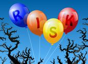 Stock Illustration of Balloons Risk