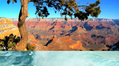 3D motion montage Grand canyon ocean Lake Powell Yosemite wild USA outdoor Stock Footage