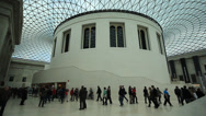 Stock Video Footage of Great Court at the British Museum