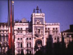SUPER8 ITALY Venice St-Mark square Stock Footage