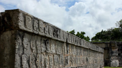 Mayan civilization in Mexico Stock Footage