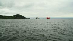 Vladivostok Harbor Stock Footage
