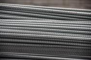 Bundle steel rods Stock Photos