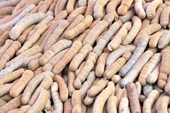 tamarind of stacked in abundance. - stock photo
