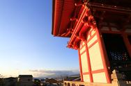 Stock Photo of kyomizu temple in winter season kyoto japan