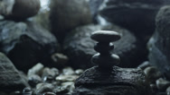 Stock Video Footage of Close-up Shot of Zen Garden v1