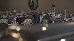 Wedding Reception Banquet 2 Stock Footage