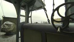 Naval equipment cruiser Aurora 2.7K. Stock Footage