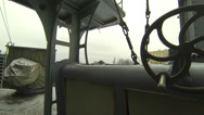 Stock Video Footage of Naval equipment cruiser Aurora 2.7K.