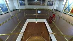 Staircase between decks on the cruiser Aurora 2.7K. Stock Footage