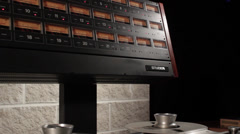 Studer Reel to Reel 2 Stock Footage