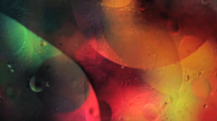 Oil Water And Light 70's Background 720p Stock Footage