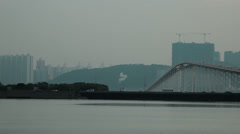 HD video of traffic in Macau Stock Footage