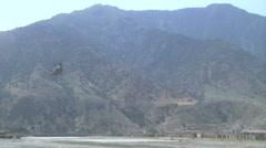 US - Army - Chinook 02 - Landing Stock Footage