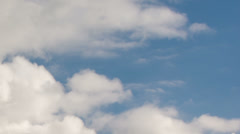Clouds on blue sky time lapse HD - stock footage