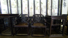 Antique furniture 2.7K. - stock footage