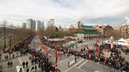 Stock Video Footage of Chinese New Year parade in Chinatown, Vancouver
