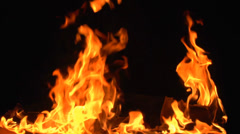 fire and flame - stock footage