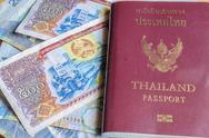 Stock Photo of thailand passport