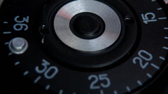 Shutter button being pressed Stock Footage