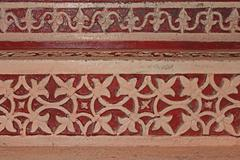 hand-carved design, someshwar temple, chas (kaman) rajgurunagar, maharashtra, - stock photo