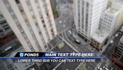 Trans Lower Third Stock After Effects