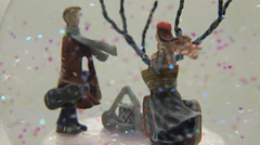 Music box of lovers Stock Footage