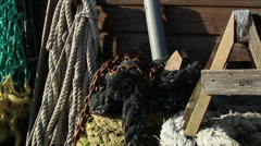Ropes with different colors Stock Footage
