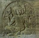 Stock Photo of hindu god relief