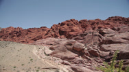 Stock Video Footage of Red Rock Canyon near Las Vegas, Nevada