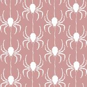 Stock Illustration of elegant seamless pattern with decorative spiders, design element