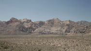 Stock Video Footage of Red Rock Canyon national park near Las Vegas, Nevada