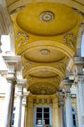 schonbrunn palace architecture details, vienna - stock photo