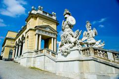 Stock Photo of schonbrunn palace architecture details, vienna