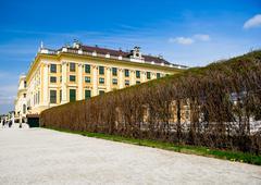 Schonbrunn palace Stock Photos