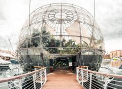 genoa biosphere - stock photo