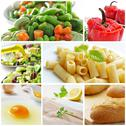 Stock Photo of mediterranean diet collage