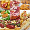 Stock Photo of spanish tapas collage