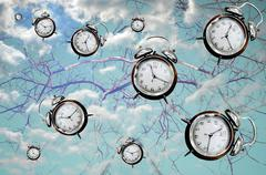 need more time concept - stock illustration