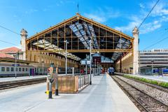 Marseille st. charles railway station, france Stock Photos