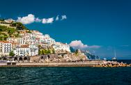 Stock Photo of view of amalfi