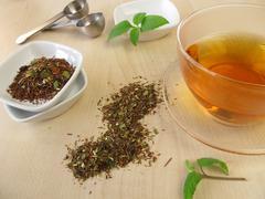 Mate Rooibos tea Stock Photos