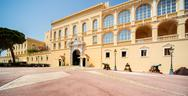 Stock Photo of princes palace of monaco. official residence of the prince of monaco.