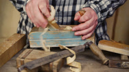 Stock Video Footage of Carpenter with tools episode 1