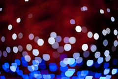 background of different color lights - stock photo