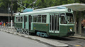 SANTOS, BRAZIL: Brazilian Heritage Tramway System, city tour of Santos HD Footage