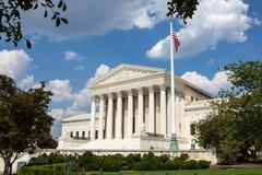 United States Supreme Court, Washington, DC - stock photo