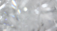 Crystal lights flashing background Stock Footage