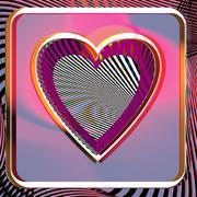 Heart illustration Stock Illustration